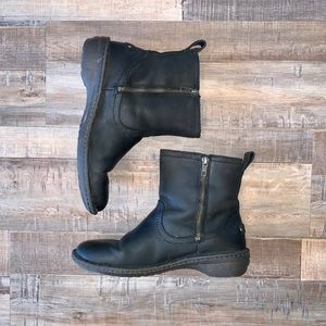 UGG Neevah Ankle Boots with Shearling Lining